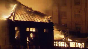 The building was damaged in a fire in 1994