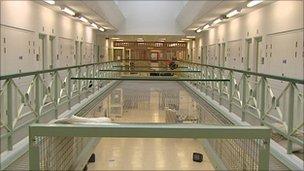 Maghaberry Prison interior
