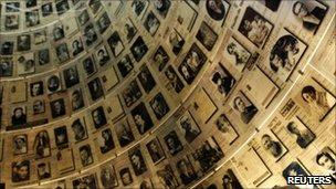 Hall of Names at Yad Vashem's Holocaust History Museum in Jerusalem