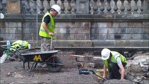 The excavation site (Pic: Steven Godden)