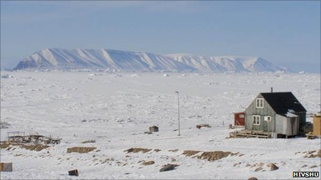 House in northern Greenland (Image: Hivshu)