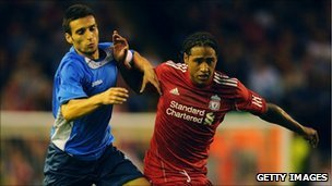 Glen Johnson of Liverpool in new season's kit