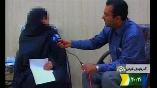 Television interview from Iranian state TV