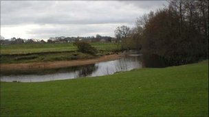 River Wyre in Lancashire