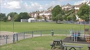 Maslin Park, Barry