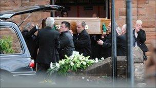 Barry Bradley funeral