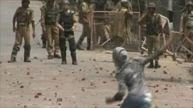 Protests in Indian-administered Kashmir