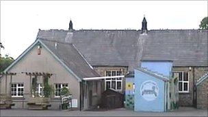 Ysgol Capel Iwan school, Newcastle Emlyn, Carmarthenshire