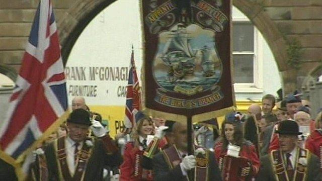 Apprentice Boys parade