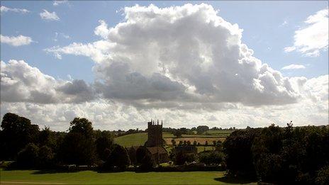 Rural scene, Somerset