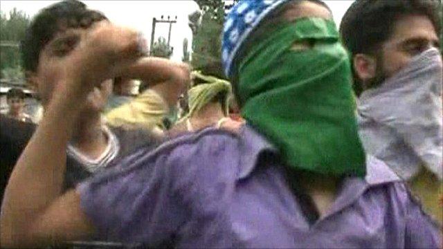 Anti-India protests in Srinigar