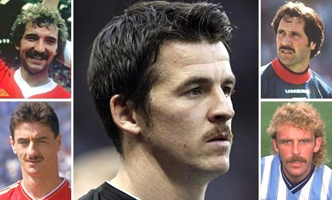 Joey Barton (main) and (clockwise from top left) Graeme Souness, David Seaman, Brian Kilcline and Ian Rush