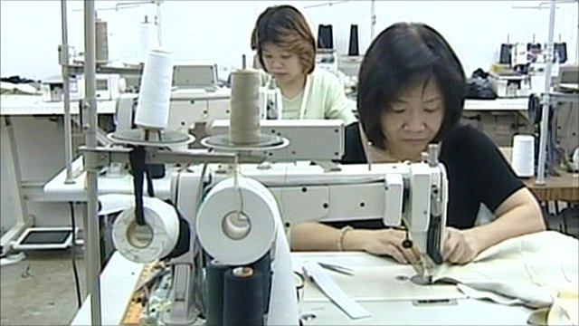 Textile workers