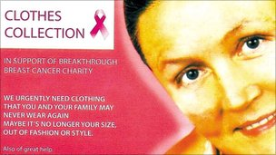 Clothing collection leaflet