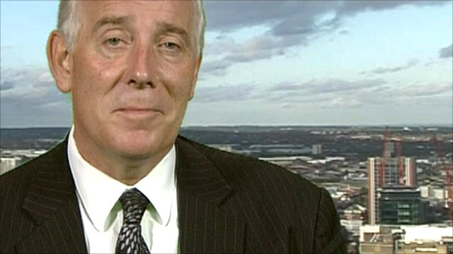 Chief executive of Poundland, Jim McCarthy