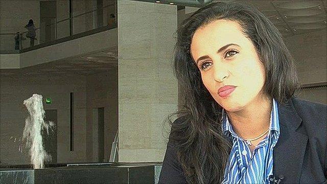 Aisha Al-Khater, the deputy director of the Qatar Museum of Islamic Art
