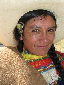 Woman at the Chaccu in La Libertad
