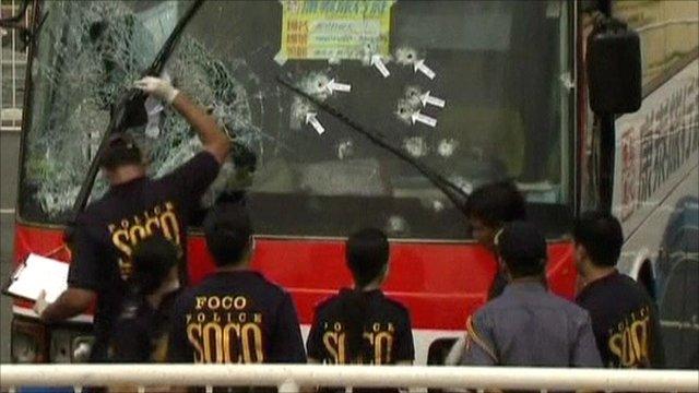 Hostage bus