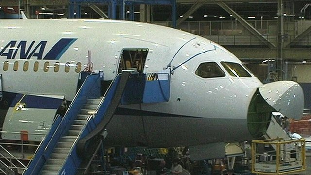 Trans-Pacific first for Boeing 787 Dreamliner - BBC News