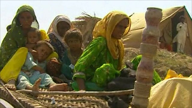 People flee Thatta