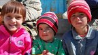 Local children in Murghab