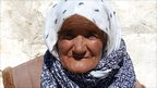 An old lady from Alichur, a tiny town in Murghab district.