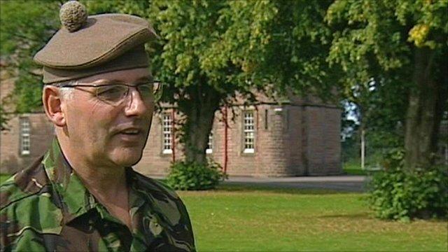 Colonel Graham Sunderland, 205 Scottish Filed Hospital