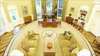 High shot of Oval Office
