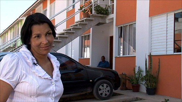 Cida Duraens recently bought their very first home in Brazil
