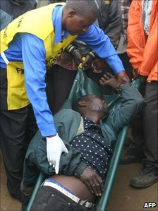 Health worker helping man who has drunk adulterated liquor (file photo)