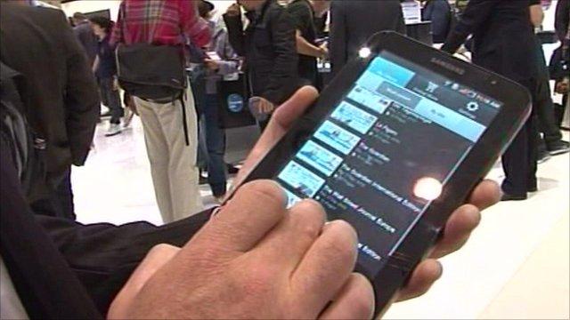 Samsung's Galaxy Tab