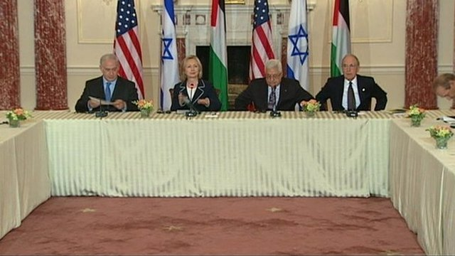 The leaders give a news briefing
