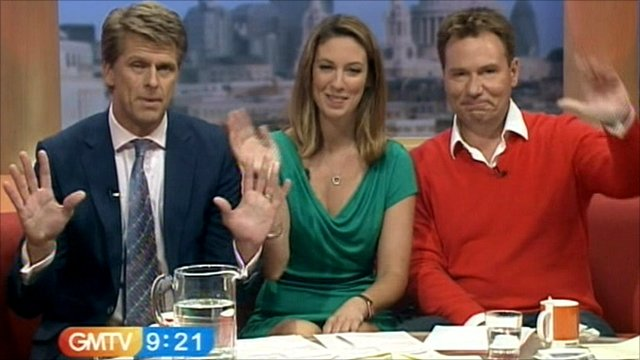 GMTV presenters say goodbye
