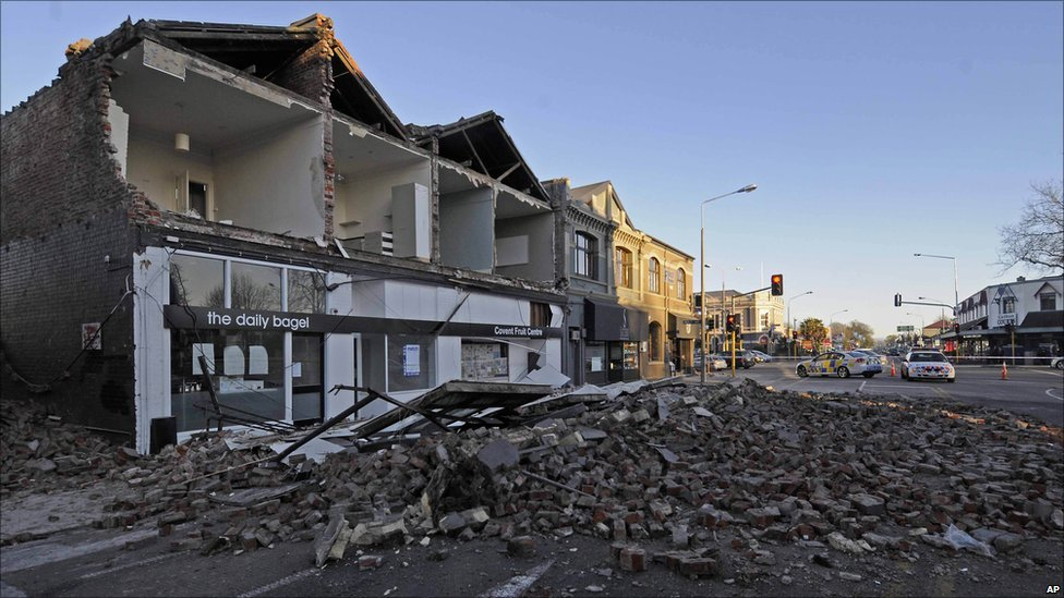 Christchurch New Zealand News: In Pictures: New Zealand Earthquake