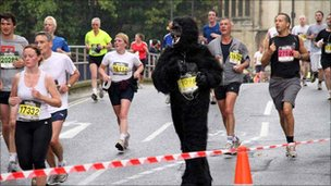 People running in half  marathon - Graham Bloomfield