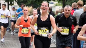 People running in half  marathon - Graham Bloomfield