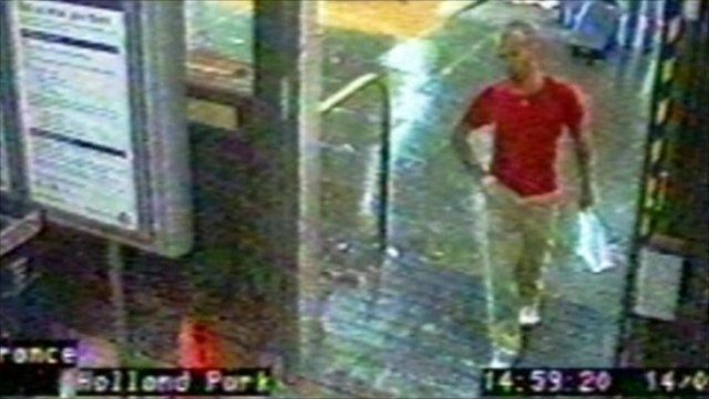 CCTV footage of Gareth Williams
