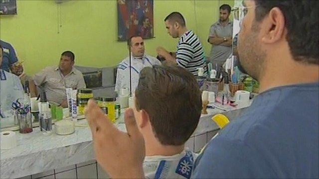 iraqi barber