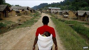 Village of Luvungi. 6 Sept 2010