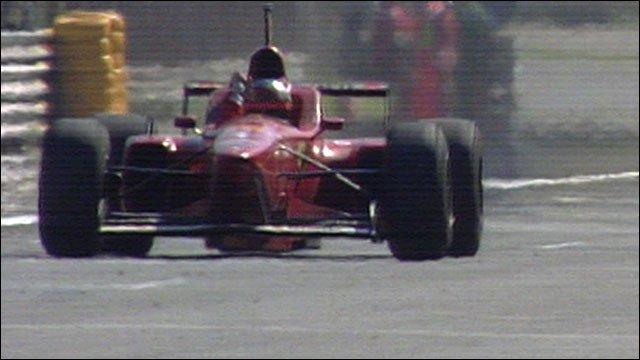 Ferrari's Michael Schumacher