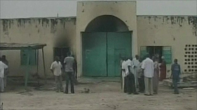 Jail in northern Nigeria