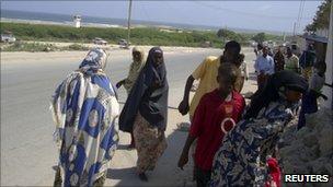 Mogadishu residents, 9 September 2010