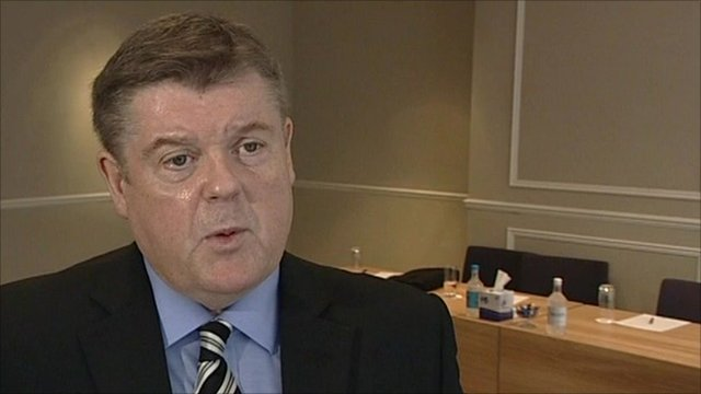 Paul McKeever the Chairman of the Police Federation of England and Wales