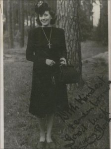 Photograph of Margery Booth
