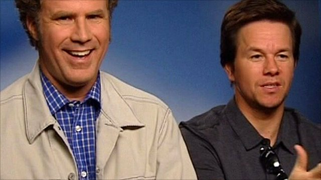 Will Ferrell (left) and Mark Wahlberg