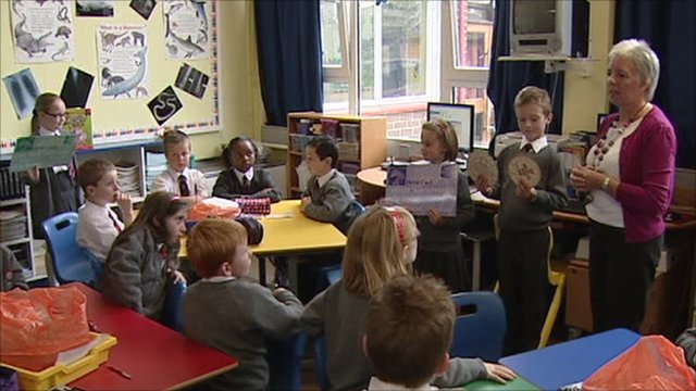A school lesson in finance in Northern Ireland