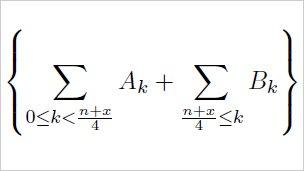 Formula used in calculating pi digits