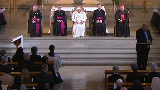 The Mass at St Mary's University College in Twickenham