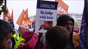 TUC rally Liverpool 19 Sept