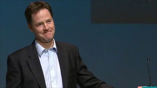 Deputy PM Nick Clegg